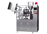 Full auto cosmetic tube filling and sealing machine