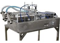 two heads horizontal filling machine(T valve)