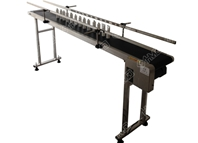 PVC belt conveyor with both side bar
