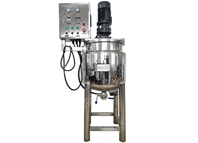 Small mixing tank without homogenizer