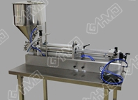 Single head horizontal filling machine