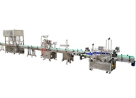 Auto filling,cap feeding capping,sealing,labeling machine